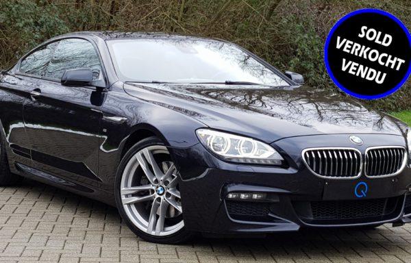 BMW 640d COUPÉ M-PACK